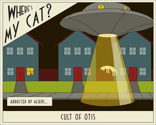 Where's My Cat #1- Abducted By Aliens