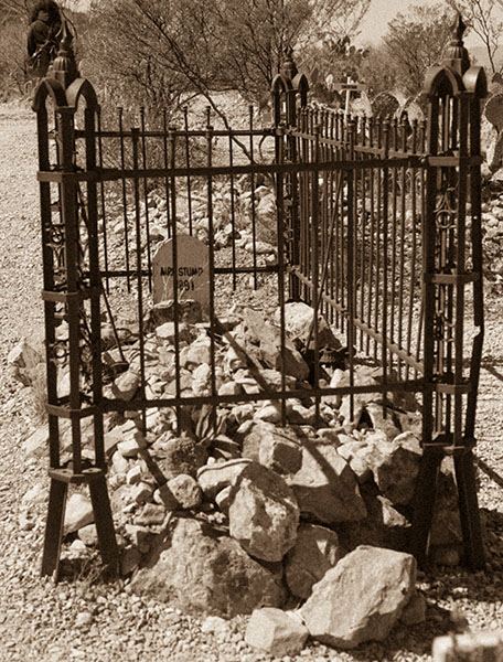 Mrs. Stump Grave