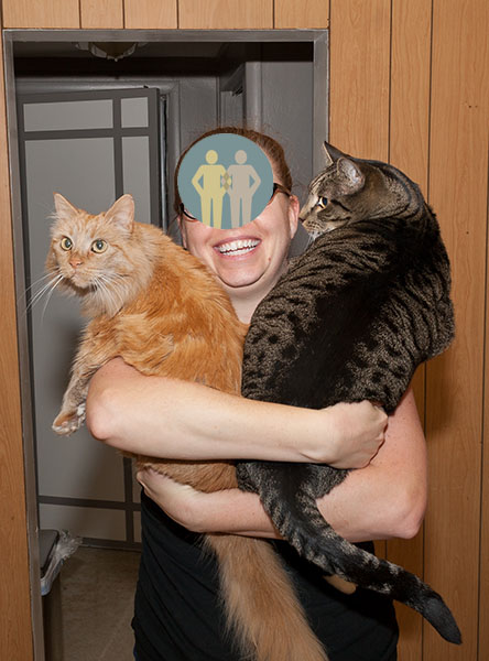Guardian, Mama Cat, Oliver