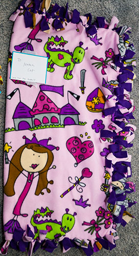 10 Mama Cat's Blanket