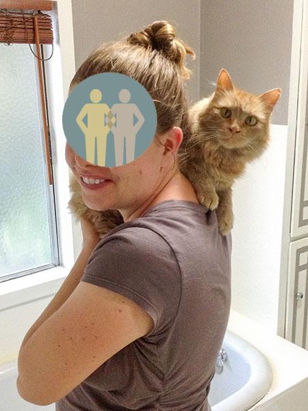 13 Mama on shoulder